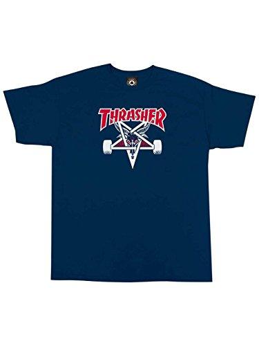 Herren T-Shirt Thrasher Two Tone Skategoat T-Shirt Navy