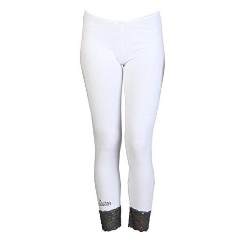 Pantaloni Tuta Datch Donna Bianco L