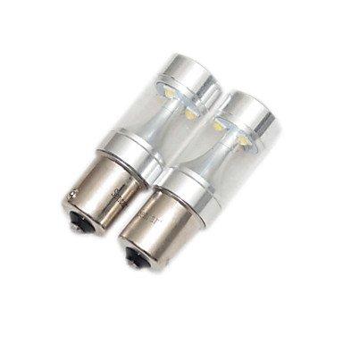 GANTA® 2x1156 1157 31573156 7440 7443 1142 50w weiß gelb rot 8xcree-LED-Blaulicht LED-Lampe für Auto 12-24V , 7443