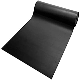 Gummiplatte NR/SBR | Stärke: 2mm Vollgummi | Gummimatte für Dichtung, Isolation, Bodenbelag etc. | 12 Größen wählbar | 120x83cm
