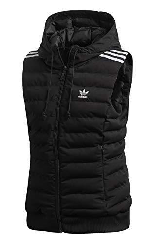 adidas Slim Vest Weste Damen Schwarz (Schwarz)