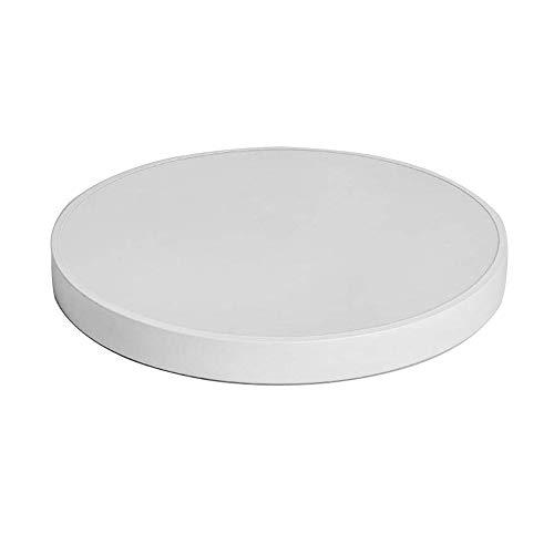 LED Deckenlampe Modern Dimmbar Deckenleuchte Weiß Rund Decken Lampen Ultra dünne Metall Eisen Wandlampe für Wohnzimmer Schlafzimmer Küchenleuchte Esszimmer Innenbeleuchtung, 3000-6000K