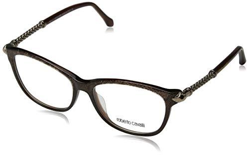 Roberto Cavalli Damen Brille RC5019 050 54 Brillengestelle, Braun,