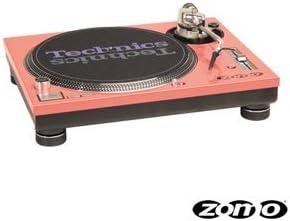 Zomo FACEPLATE DECORATION POUR SL1200 MK5 LA PAIRE Rouge - Plato para DJ, color rojo