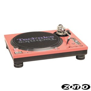 Zomo Twin MK5 (1 Pair) Red Faceplate