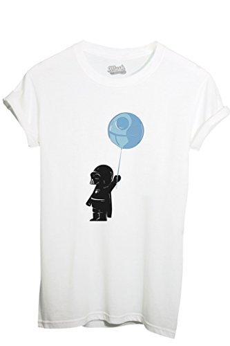 T-SHIRT BABY DARTH VADER - FUNNY by MUSH Dress Your Style - Donna-S-BIANCA