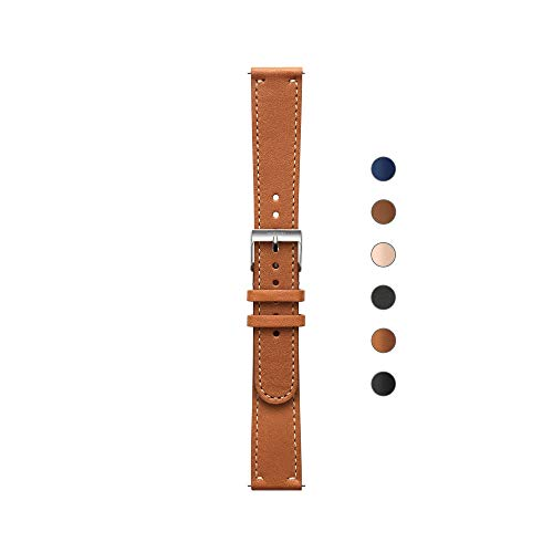 Withings - Bracelet Cuir pour Steel HR, Steel HR Sport, Move ECG, Move et Steel