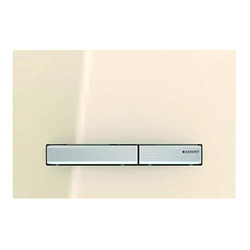 Geberit Sigma 50 115788TG2 Placca di comando per sciacquoni 2 quantità azionamento anteriore colore Sabbia di vetro