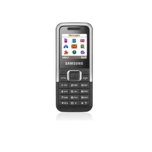 Samsung E1120 (Dual-Band, Lange Akkulaufzeit) Silver Handy - Dual-band Cdma