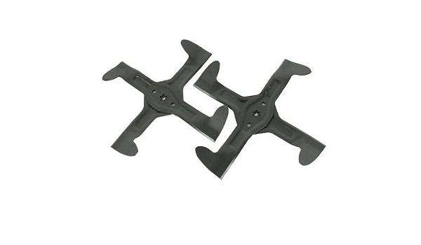 Messerschrauben Set Rechts und Links passend Craftsman 917.254604 Rasentraktor