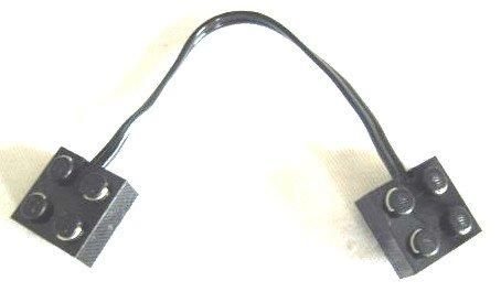 Preisvergleich Produktbild LEGO City - 1 Kabel - Elektrokabel - 5306 - 5306bc015 (15 NOPPEN lang) - z.B. EISENBAHN, TECHNIK-MOTOR, usw. - Achtung: nicht für die neuen Power Motoren verwendbar !!