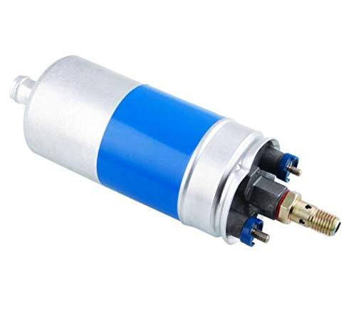 Huashao Nuova Pompa di Benzina elettrica Esterna 0580254910 ad Alta Portata della Pompa del Carburante, OEM 0580254910 0580464125 di 120LPH 12V