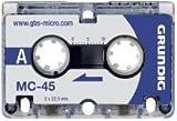 Produkt-Bild: Grundig GGM4500 Diktiergeräte - Zubehöre Micro-Kassette MC45 3 Stück