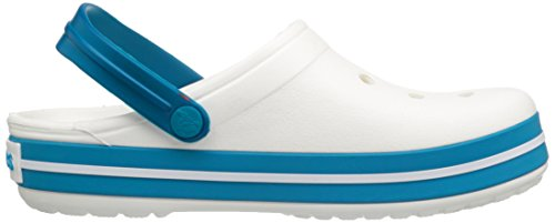 Crocs Crocband - Sabots - Mixte Adulte White/Ultramarine