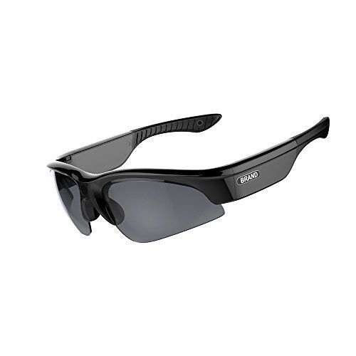 gogoo 1080P Full HD UV400 MOV H264 MP4 Sport Sonnenbrille Kamera