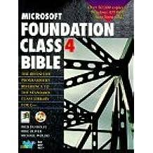 Microsoft Foundation Class 4 Bible by Fred Pandolfi (1996-07-02)