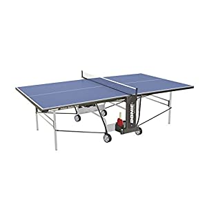 DONIC Indoor Roller 800 Tischtennisplatte, Hellgrau-Schwarz-Blau, One Size