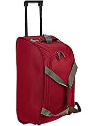 Aristocrat Polyester 53 cms Red Travel Duffle (Rookie)
