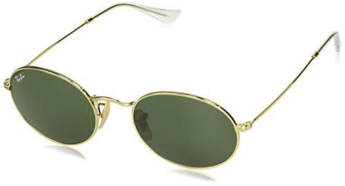 Ray-Ban Unisex-Erwachsene 0RB3547 Sonnenbrille, Schwarz (Gold), 53