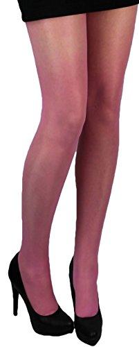 Viel Strumpfhosen (Lycra STRUMPFHOSE glänzend 40 den viele Farben (M/L 38-40, rosa))