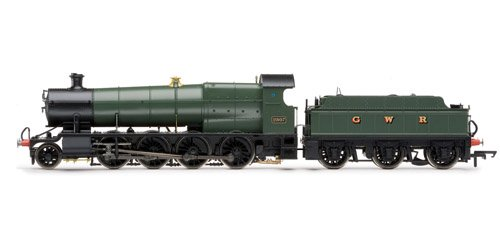 Hornby R3106 00 Gauge 256mm Preserved Steam Locomotive Train Model