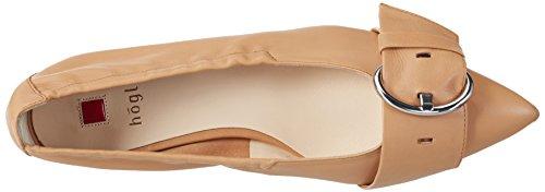Högl Damen 3-10 2030 1500 Geschlossene Ballerinas Braun (caramel1500)