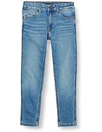 Tommy Hilfiger Modern Straight-Mmbstr Pantalones para Bebés