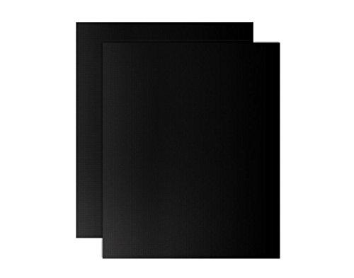 Antiadherente alfombrilla de barbacoa (Juego de 2, horno maletero alfombrilla de cocina y horno de teflón, perfecto para Fan asistida hornos, Cool Gadgets de cocina tamaño 40cm x 50cm (15.75in x19.69en)