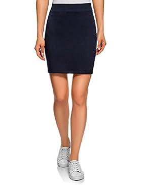 oodji Ultra Mujer Falda de Punto (Pack de 3)