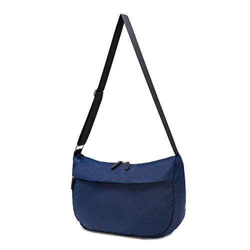 Lady retro Pack/Semplice vento loro borsa a tracolla in nylon/tempo libero lanciato impermeabile gnocchi-A A