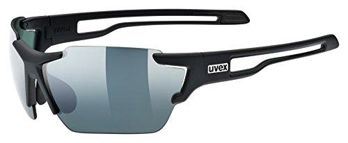 Uvex Sportstyle 803 cv Sportbrille, black mat, One Size