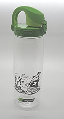 Nalgene Trinkflasche 'Everyday OTF' - 0,7 L transparent-grün, Pirat