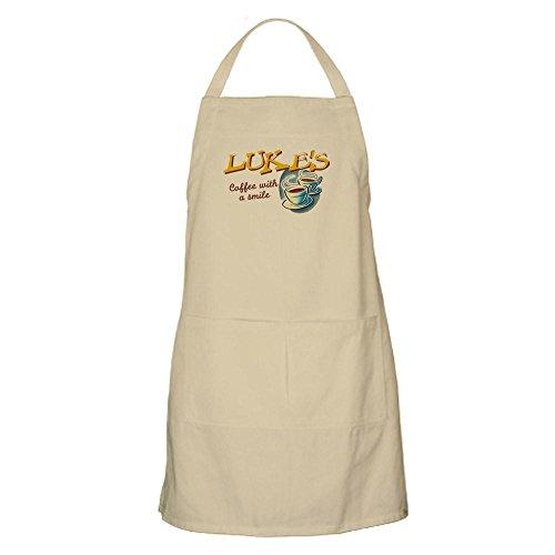 CafePress-Luke 's Diner-100% Baumwolle Küche Schürze mit Taschen, perfekt Grillen Schürze oder Backen Schürze khaki -