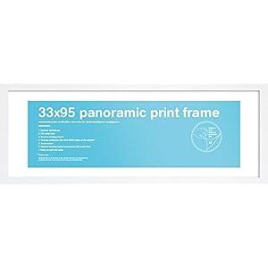 GB FMPNA1WH Panoramarahmen 33 x 95 cm