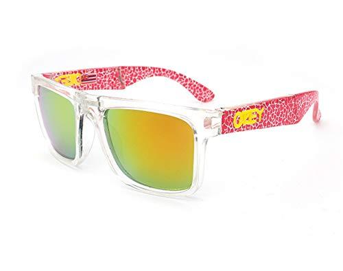 AOCCK Brillen Sonnenbrillen Folding Sunglasses Designer Sun Glasses Reflective Coating Square For Men And Women Rectangle Gafas De Sol C12