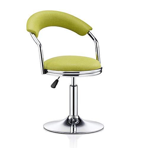YN Moderner minimalistischer Bar-Stuhl-drehender Sessellift-hoher Schemel Rückenlehne (Color :...