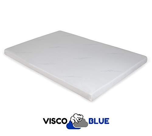 Visco Blue Topper Viscoelástico, Premium, 150x200 cm, Grosor 6 cm