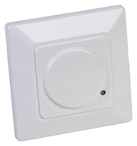 Drehflex® Automatischer Lichtschalter, Mikrowellen Wand-Bewegungsmelder 180 Grad große Reichweite