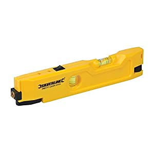 Silverline 598477 Mini Laser Level, 210 mm