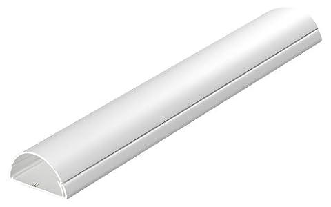 D-Line Kabelkanal Gross Profil 50 x 25 mm 1 m weiß (1 Stück)