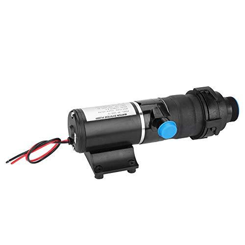 12 V Wasserpumpe, Effizient Druckwasserpumpe für Boot und Auto, Abwasserpumpe mit Selbstansaugenden Funktionen