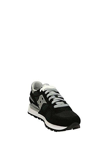 Saucony Shadow Original Sneakers Basse Donna Nero Argento