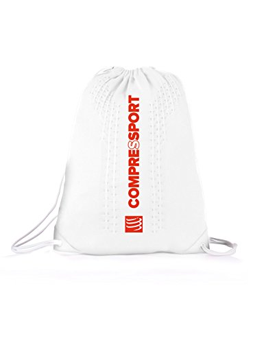 Compressport Endless Backpack Rucksack Beutel Sport Training Wettkampf Bag Tasche (blue) white