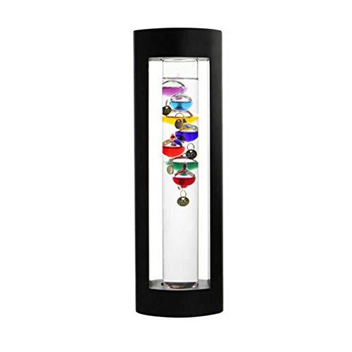 TODAYTOP Glass Suspension Bunte Ball Galileo Thermometer Set für Home Desktop Office Galileo-thermometer-barometer