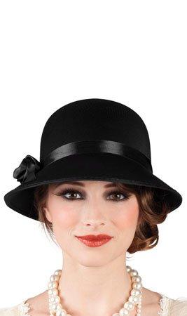 Boland - Sombrero disfraz adulto Charleston, talla