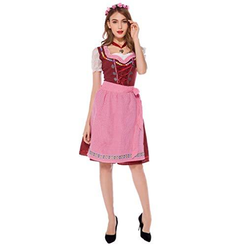 TINGSHOP Mädchen Kostüm Outfit, Frauen Oktoberfest/Bier Uniformen