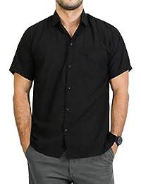 Suchergebnis auf Amazon.de für  schwarze hemden herren kurz  Bekleidung 87249f11a4