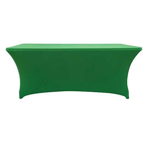 r-Tischhussen Tischdecke Tischdecke Dekoration, grün, 6ft. ()