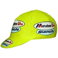 Apis Cappellino Ciclismo Team Vintage MERCATONE Uno Bianchi Cycling cap  HOSTED BY PRO  Line d23e1b38ee35