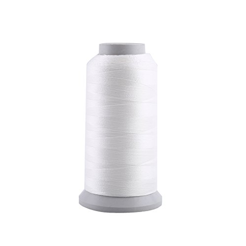 Yosoo 4#(3000Yard) : Polyester Sewing Thread Spool Colorful Spool Threads For Hand Embroidery Machine Sewing (Size:4#(3000Yard))